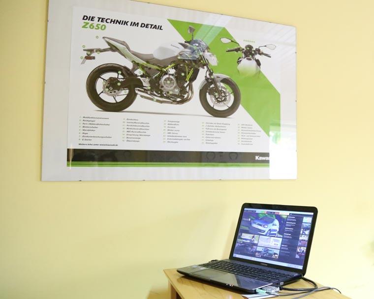 Technik von Motorrädern